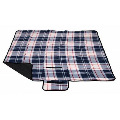 Pikniková deka modrá, 150 x 135 cm