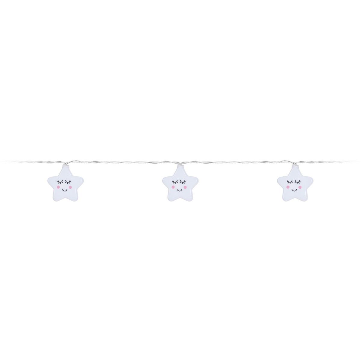 Koopman Dětský světelný řetěz Sleeping stars, 10