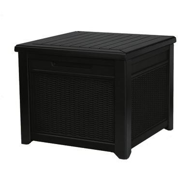 Keter Záhradný úložný box Cube Rattan hnedá, 208 l