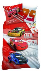 CTI Detské bavlnené obliečky Cars Go Go Go , 140 x 200 cm, 70 x 90 cm