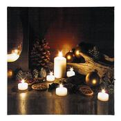 LED Obraz vánoční překvapení