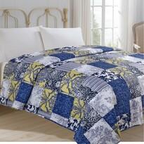 Přehoz na postel Modrotisk, 220 x 240 cm