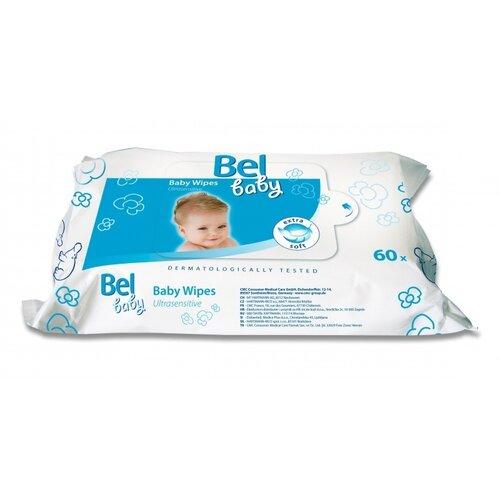 Bel Baby Vlhké utěrky ultrasensitive, 60 ks