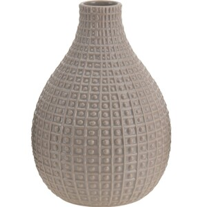 Keramická váza Pompei béžová, 26 cm
