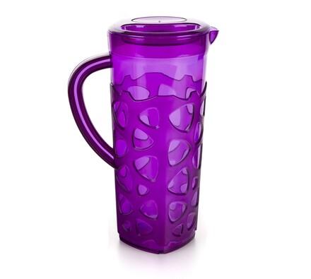 Plastový džbán, fialová