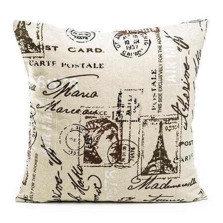 Obliečka na vankúšik Stamp, 45 x 45 cm