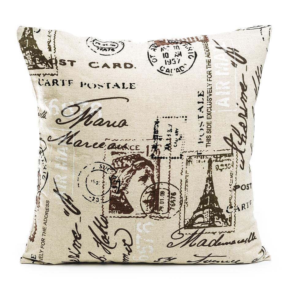 Jahu Povlak na polštářek Stamp, 45 x 45 cm