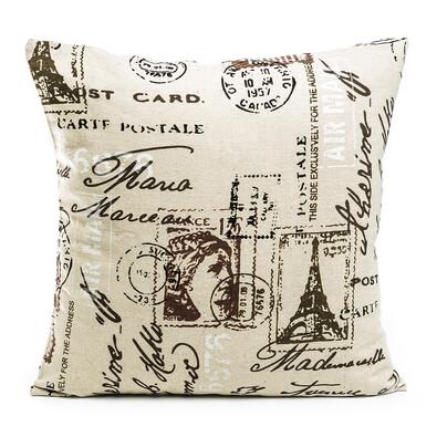 Povlak na polštářek Stamp, 45 x 45 cm