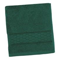 Ręcznik Kamilka Pasek ciemnozielony, 50 x 100 cm
