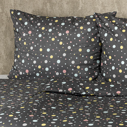 4Home Bavlnené obliečky Bodky pastel, 220 x 200 cm, 2 ks 70 x 90 cm