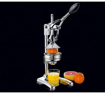 Profesionální lis na citrusy Cilio, stříbrný