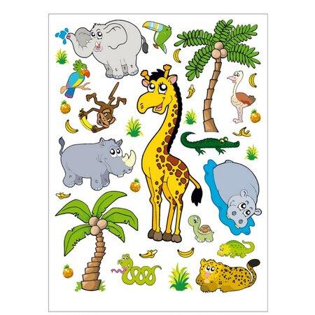 Samolepiaca dekorácia Džungľa, 45,5 x 65 cm