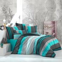 Zigo pamut ágynemű, türkiz, 140 x 200 cm, 70 x 90 cm