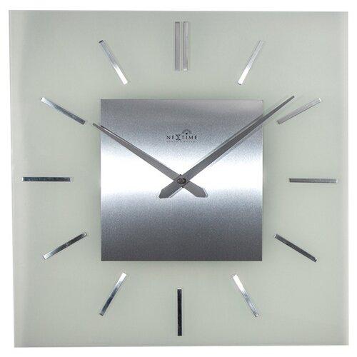 Nextime Stripe Square DCF 3148 nástěnné hodiny