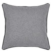 Poszewka na poduszkę Heda szary, 40 x 40 cm