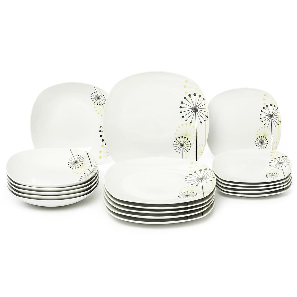 Set de masă Domestic Vanesa 18 piese