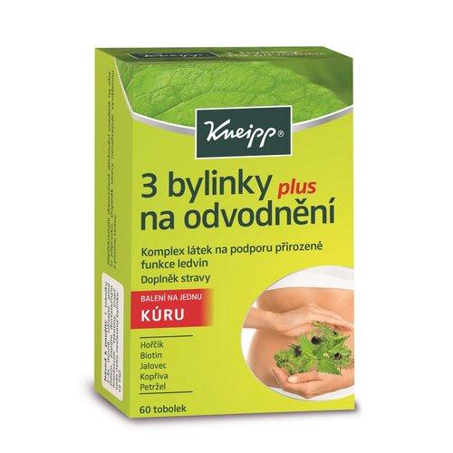 Kneipp Doplnok stravy 3 bylinky na odvodnenie, 60 tob.