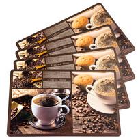 Prestieranie Coffee time, 43 x 28 cm, sada 4 ks