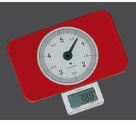 Zassenhaus Kuchyňská váha digitální červená