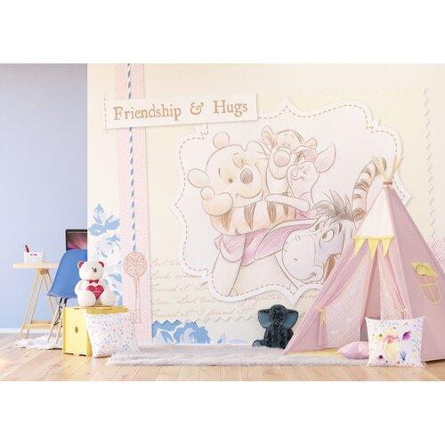Polštářek Winnie The Pooh Disney růžová, 40 x 40 cm
