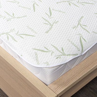 Protecție saltea 4Home Bamboo impermeabilă cu elastic, 90 x 200 cm