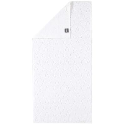 Cawö Frottier ručník Star bílá, 50 x 100 cm
