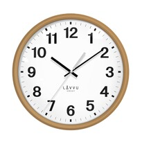 Lavvu LCS4040 Zegar ścienny Essential wood, śr. 30 cm