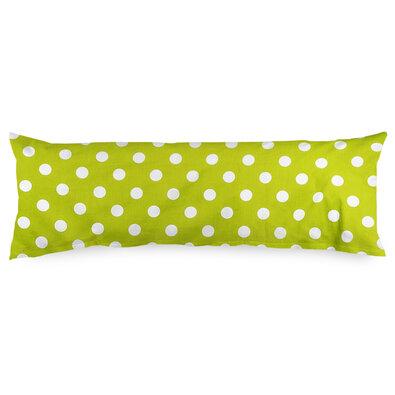 4Home Povlak na Relaxační polštář Náhradní manžel  Náhradní manžel Zelený puntík, 50 x 150 cm