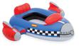 Dětský člun ve tvaru rakety, Intex, modrá, 107 x 94 cm