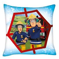 Perniță Pompierul Sam cu prietenul, 40 x 40 cm