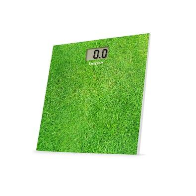 Beper Digitální skleněná osobní váha, zelená