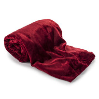 Light Sleep New takaró, bordó, 150 x 200 cm