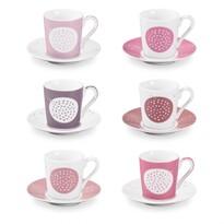 Tescoma myCOFFEE eszpresszós csésze tányérkával Sugar, 6 db
