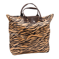 Skladacia taška Tiger, hnedá
