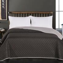 Cuvertură de pat DecoKing Axel, negru/gri, 220 x 240 cm