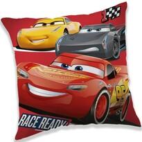Cars 3 race ready gyermek kispárna, 40 x 40 cm