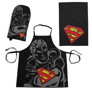 TipTrade kuchyňský set Superman, 3 kusy