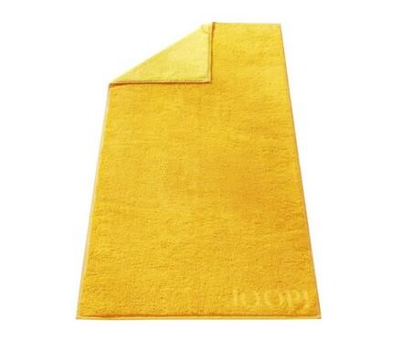 Ručník Doubleface JOOP! žlutý, 50 x 100 cm