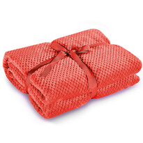 DecoKing Henry takaró, piros, 150 x 200 cm