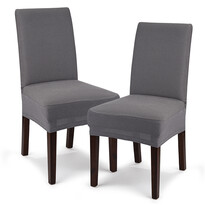 Husă multielastică 4Home Comfort pentru scaun, margri, 40 - 50 cm, set 2 buc.