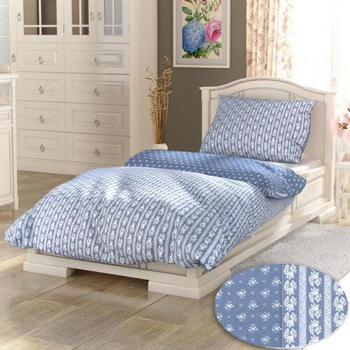 Kvalitex bavlna povlečení Provence Collection Eleonora šedá 140x220 70x90