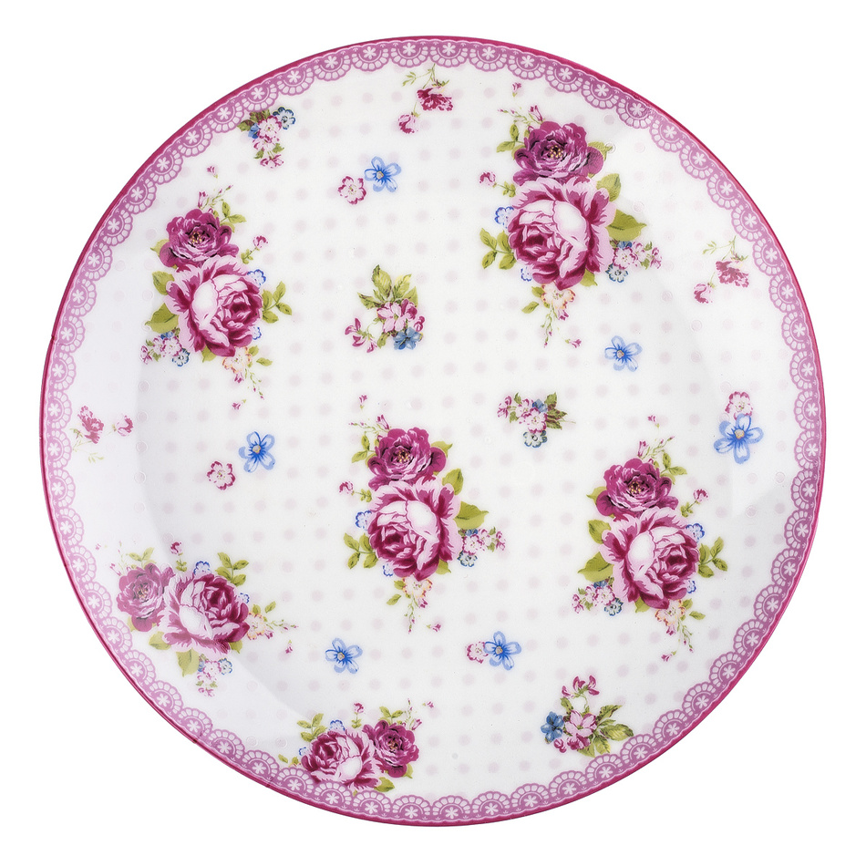 Dezertný tanier English Rose 20 cm