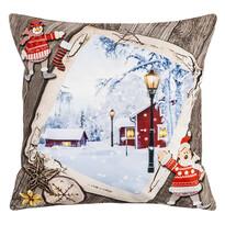 Vianočná obliečka na vankúšik Tichá noc, 40 x 40 cm