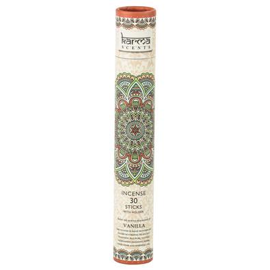 Vonné tyčinky Vanilka, 30 ks