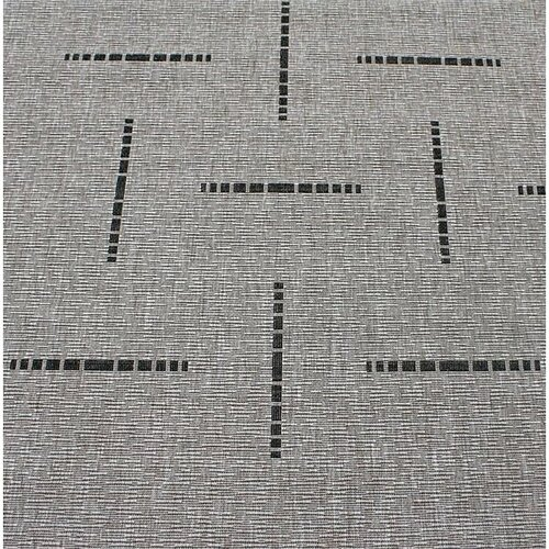 Kusový koberec Floorlux silver/black 20008, 160 x 230 cm