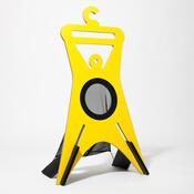 Němý sluha TONDA  94,9 cm, žlutý