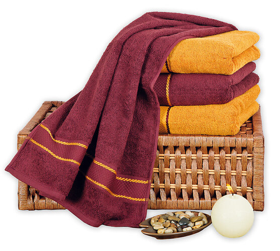 Luxusní bavlněné ručníky