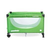 Caretero Cestovní postýlka Simplo, zelená