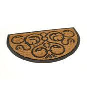 Venkovní rohožka Exotic 3 půlkruh, 45 x 75 cm