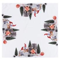 Vánoční ubrus Adventní svícen, 85 x 85 cm